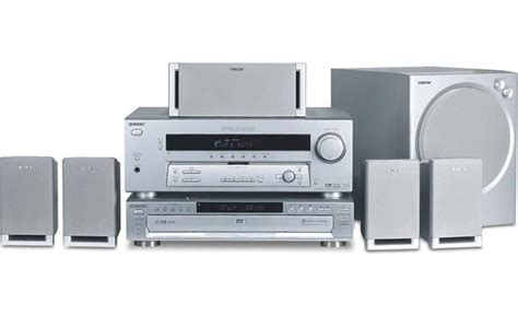 sony ht 6600dp 5 disc component dvd home theater system at