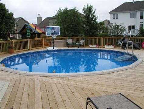 backyard swimming pools above ground above ground swimming pool decks plans backyard design ideas
