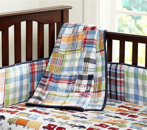 Pottery Barn Madras Crib Bedding Madras Nursery Bedding