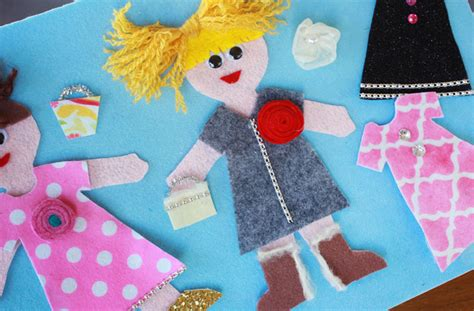 felt dress up doll template how to make felt dress up dolls
