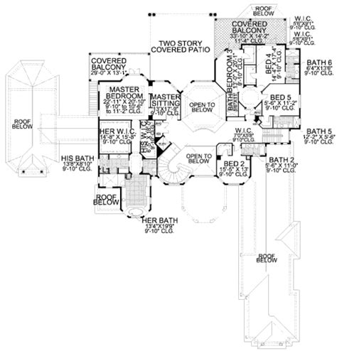 420 sq ft house plans mediterranean style house plan 7 beds 9 5 baths 11027 sq ft plan 420 200