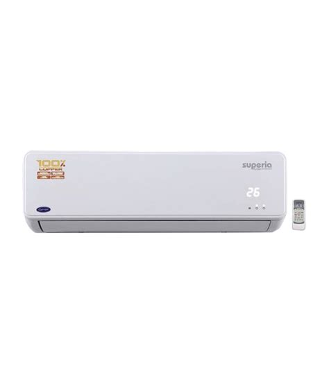 Ac Carrier carrier 1 5 ton superia inverter split air conditioner