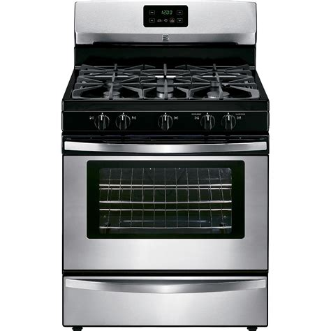Broil And Serve Drawer by Kenmore 73433 4 2 Cu Ft Gas Range W Broil Serve