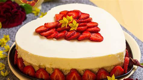 Backen Torten by Kuchen Ohne Backen Erdbeer Kokos Verpoorten Torte