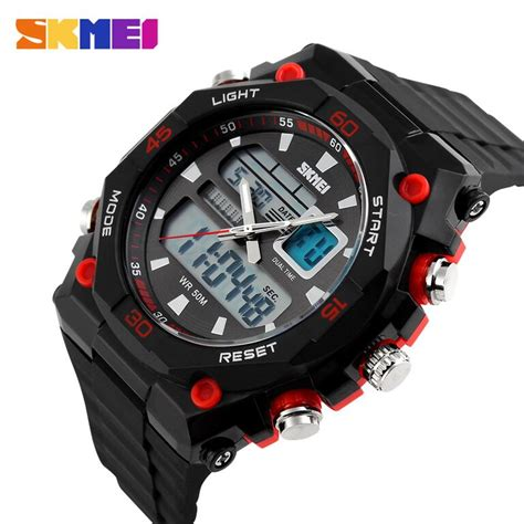 Jam Casio Analog Sporty skmei jam tangan sporty digital analog pria ad1092