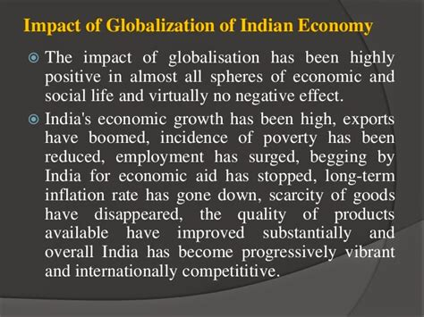 Essay On Globalization And Its Impact On Indian Culture by Essay On Globalisation Of Indian Ec