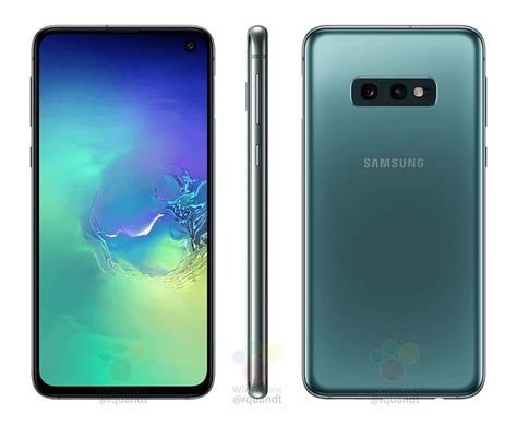At T Samsung Galaxy S10 by Samsung Galaxy S10e Appears In Leaked Press Renders Phonedog