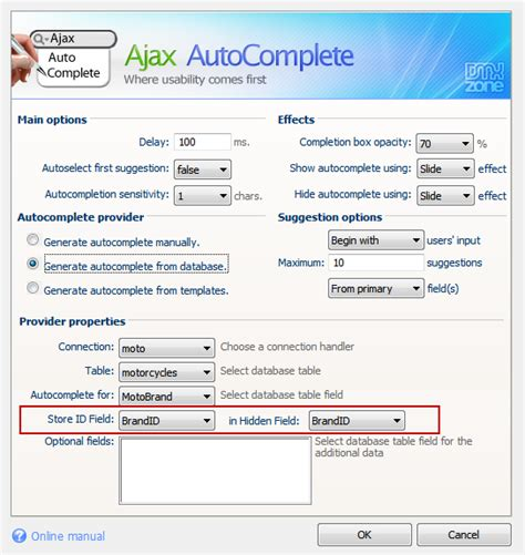 Ajax Address Lookup Ajax Autocomplete Extensions Dmxzone