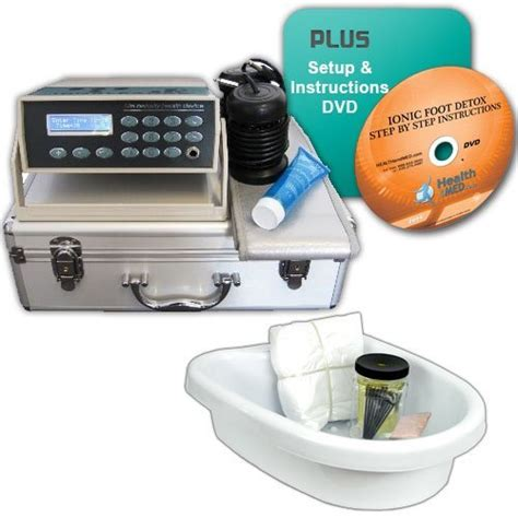 Detox Foot Bath Basin by Fb401e Ionic Detox Foot Bath System With Infrared Tub