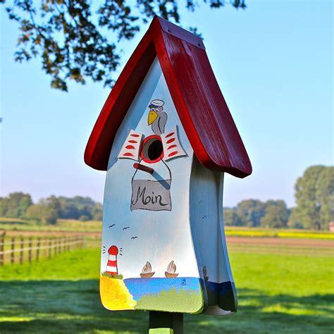 Bunte Vogelhäuser Bauanleitung by Vogelvilla Nistkasten Vogelhaus Insektenhotel Und