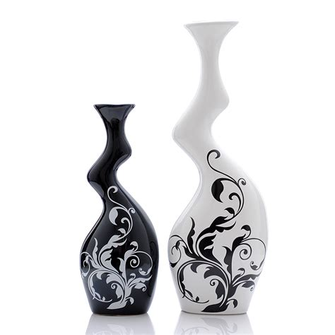 Black And White Vases Cheap by 301 Moved Permanently