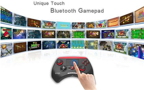 Ipega Bluetooth Controller With Touchpad For Smartphone And ipega bluetooth controller with touchpad for smartphone and tablet pg 9028 black