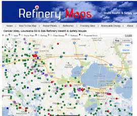 refineries map refinery maps february 2014