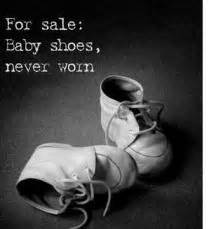 A Sad Sad Shoe Story by Six Word Memoir Keeping It Simple Moments Of Clarity