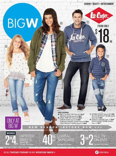 big w new season fashion catalogue february 2015