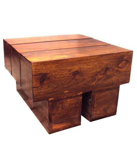 Solid Wood Log Coffee Table Buy Online At Best Price In Wood Log Coffee Table