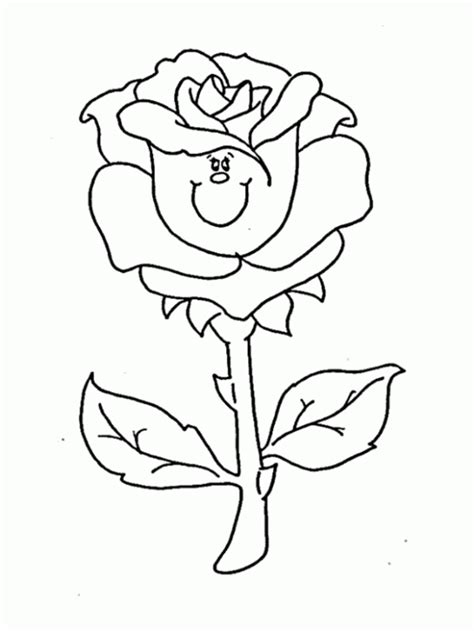 rose coloring pages coloring ville