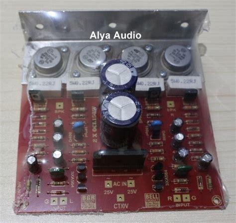 Kit Power Lifier Ocl jual kit power lifier ocl 2x150w stereo bell bgr alya audio elektronik