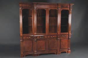 schrank china mahogany china cabinet high end antique reproduction
