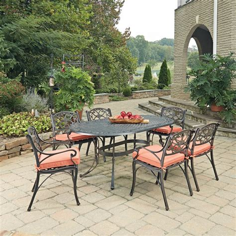 aluminum patio furniture clearance cast aluminum patio dining furniture the clearance set