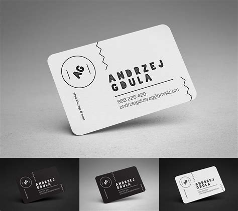 rounded business card template psd rounded business cards mockup mockups design free