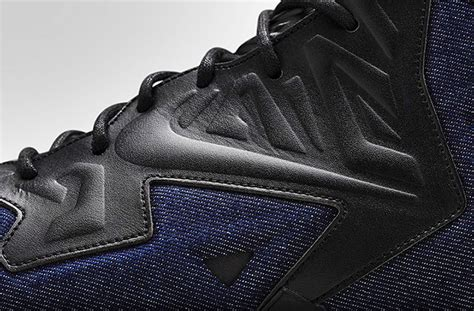 Nike Rubber Denim Abu nike mens lebron 11 ext denim basketball shoes denim fashion week runway catwalks