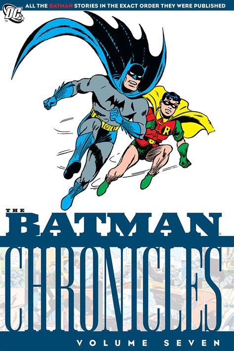 batman chronicles vol 7 collected dc comics database