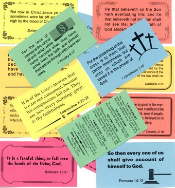 Scripture Business Cards