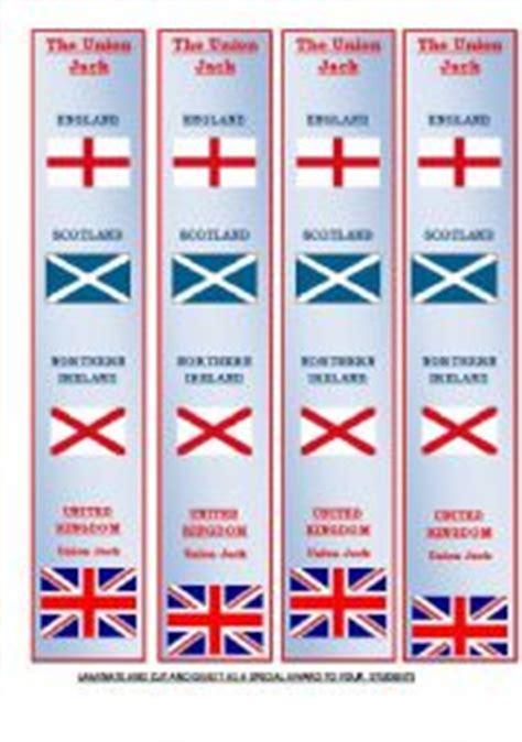 printable union jack bookmarks english teaching worksheets the union jack