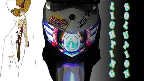 Lu Projector Xeon Gt front headlight headl light xeon gt 125 projector hid custom sirip alvito pitshop