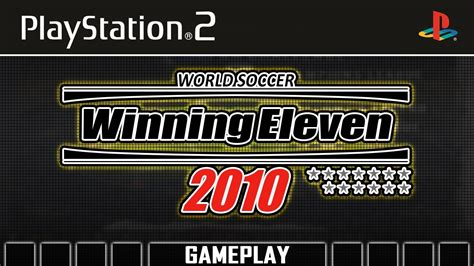 Kaset Ps3 Winning Eleven 2010 world soccer winning eleven 2010 ps2 gameplay