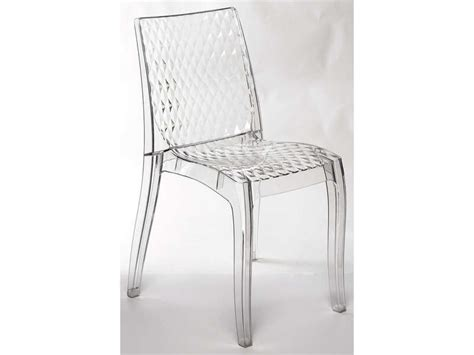 Chaise transparente HYPNOTIC   Vente de CONFO SCOOP   Conforama