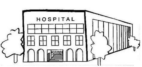 Imagenes Para Colorear Hospital | dibujos de hospitales para colorear