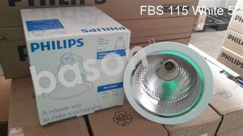 jual philips downlight fbs115 white rumah lu 5