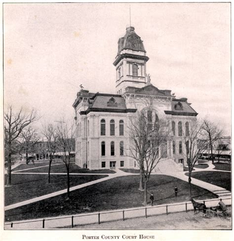 Porter County Search Porter County Courthouse 1875 Sylviagraham Org