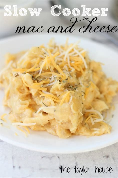 comfort food mac and cheese comfort food slow cooker mac and cheese the taylor house