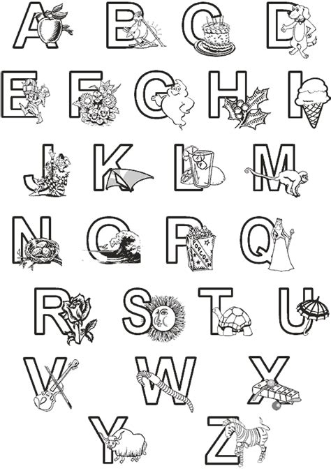 alphabet a b c coloring book books classbrain abc coloring pages
