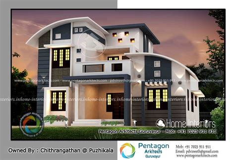 home design plans kerala style excellent walk in wardrobe design 2019 square feet double floor contemporary home design