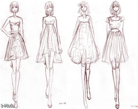 fashion design referenced fashion design figure drawing 2015 2016 fashion trends