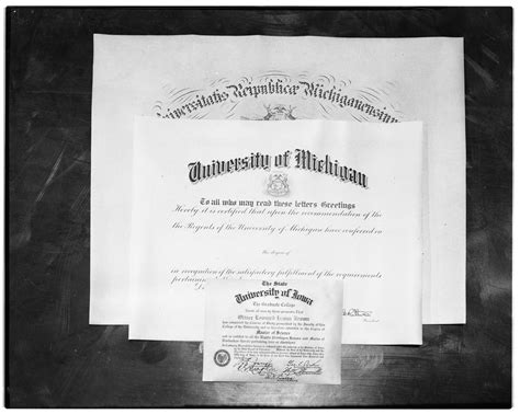 Ie Brown Mba Diploma by Quot New Quot Of Michigan Diploma Compared To Earlier