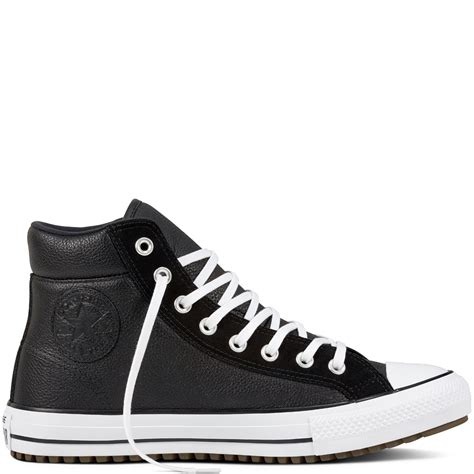 Jual Converse Leather Hi chuck all boot pc leather suede converse gb