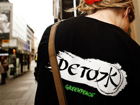 Greenpeace Detox Chemicals by H M Greenpeace Detox Ecouterre