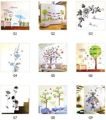 wall sticker transparant 50 x 70cm 178 barang unik china barang unik murah grosir barang