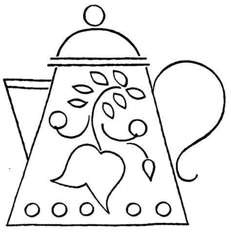 beauty and the beast teapot coloring pages teapot colouring pages page 3 tea cups pinterest