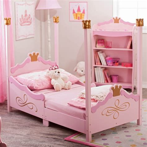 Kidkraft Princess Toddler Bed 76121 Pink Toddler Bed Kidkraft Bedroom Furniture