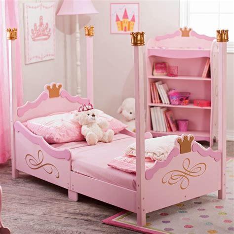 pink kids bed kidkraft princess toddler bed 76121 pink toddler bed