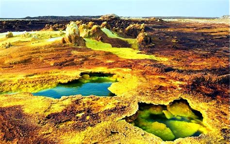 Beautiful Abandoned Places by Dallol Series Planet Hottest Geo Spots Orangesmile Com
