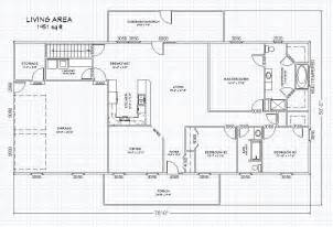 Home Floor Plans With Basement by Ranch House Plan With Full Basement The House Plan Site