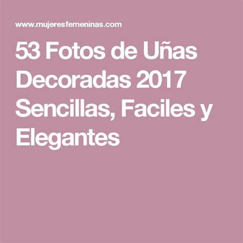 fotos uñas decoradas facebook las 25 mejores ideas sobre u 241 as doradas en pinterest