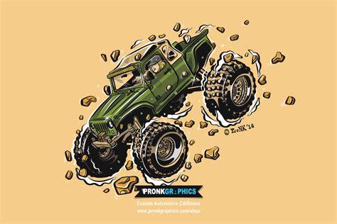 jeep artwork jeep wrangler jk pronk graphics websites branding
